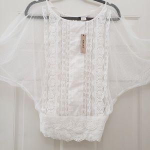 Very beautiful lace blouse